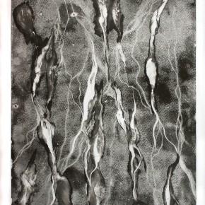Ellen Hausner Painter Oxford Untitled (Monoprint series 2C) (monoprint on paper), 2012
