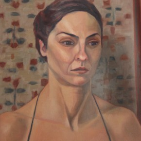Ellen Hausner Painter Oxford Marta (oil on canvas), 2011