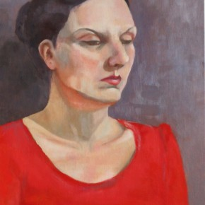 Ellen Hausner Painter Oxford Portrait (oil on canvas), 2011