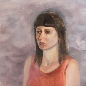 Ellen Hausner Painter Oxford Portrait (oil on canvas), 2012