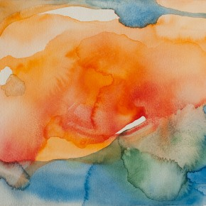 Ellen Hausner Painter Oxford Will (watercolour on paper), 2014