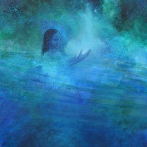 Ellen Hausner Painter Oxford The Spirit of the Water (acrylic on canvas), 2010