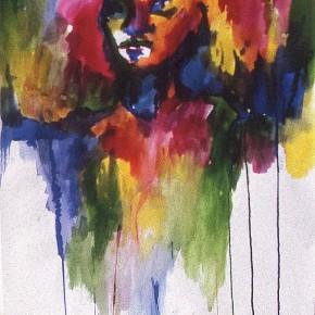 Ellen Hausner painter Untitled (Art Student's League series) (ink on paper), 1999